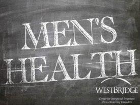Men's Health Week Men's Health Written on Chalkboard.WBBlog3