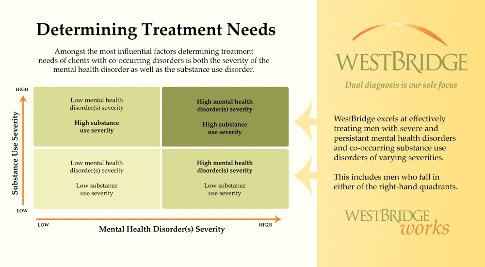 Determining Treatment Needs for Co-occurring Disorders